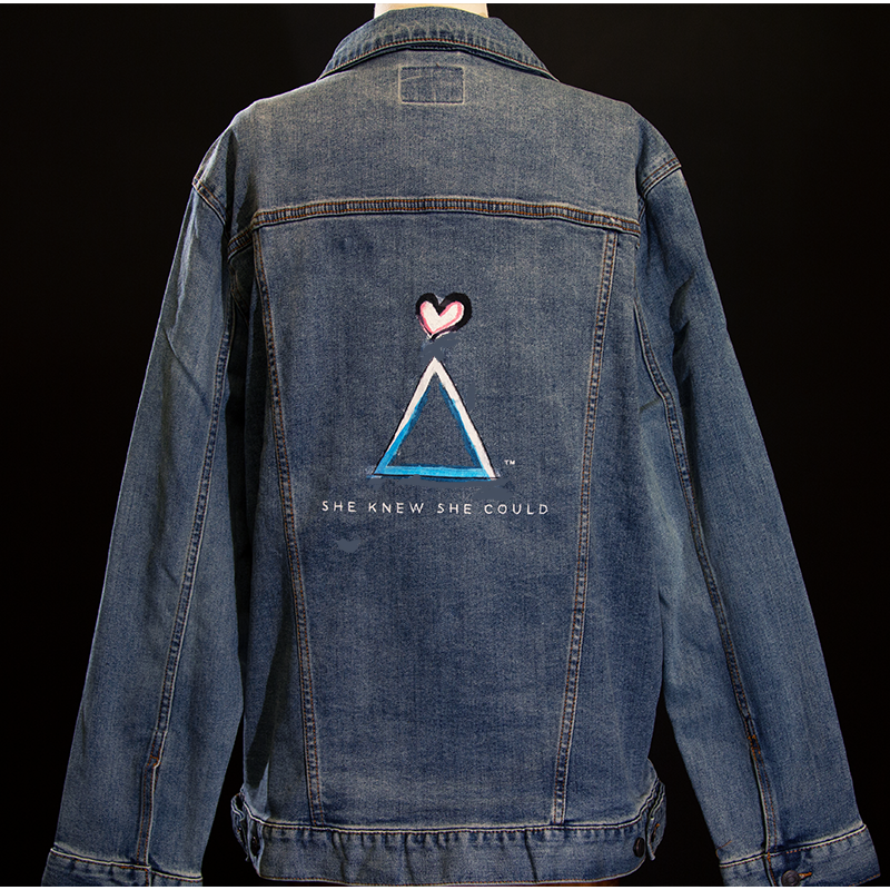 Power Jacket Hand Painted