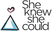 She Knew She Could Logo