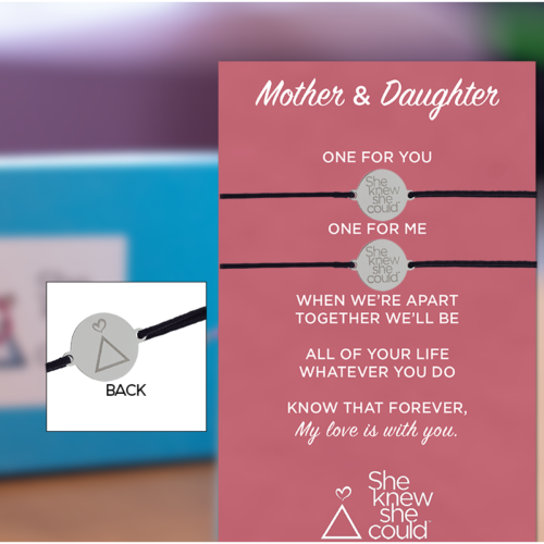 a.  Mother Daughter Bracelets- Midnight + More Colors