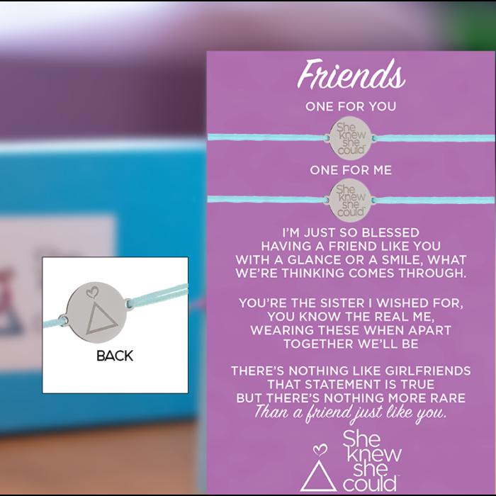 Friendship Bracelets (Multiple Color Options)