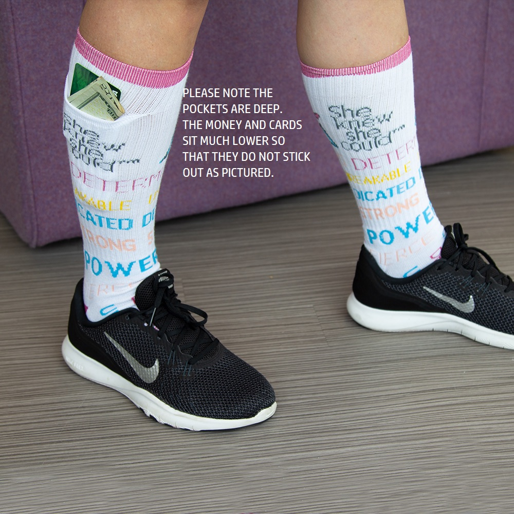 She Knew She Could Pocket Socks