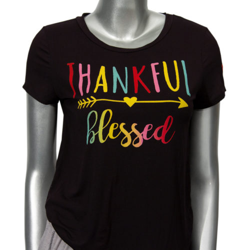 Thankful Blessed T-shirt | She Knew She Could
